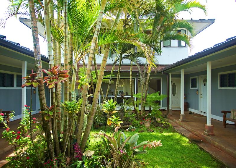 Atrium at Kauai Banyan Inn