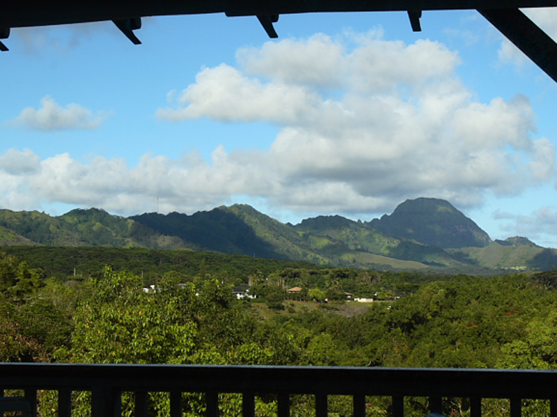 View from Ulu Vacation Suite