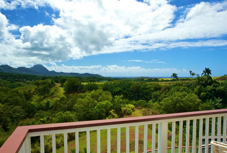 View from Alii Suite, Kauai Banyan Inn