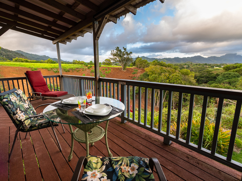 Ulu Suite private lanai and view